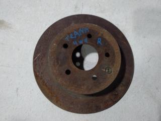 Запчасть диск тормозной задний NISSAN TEANA 2008-2013
