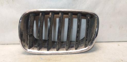 Запчасть решетка радиатора передняя левая BMW X5 2007-2013