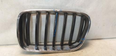Запчасть решетка радиатора передняя левая BMW X3 2010-2017