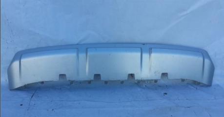 Запчасть накладка бампера передняя Skoda Yeti 2013-