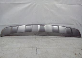 Запчасть накладка бампера задняя Kia Sorento 3 Prime 2014-