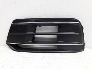 Запчасть решетка бампера передняя левая Audi Q5 2016-