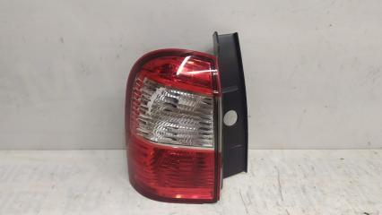 Запчасть фонарь наружный левый Nissan Terrano 2014-