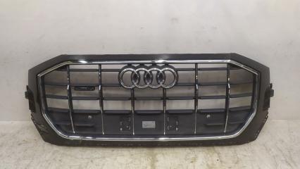 Запчасть решетка радиатора Audi Q8 2018-