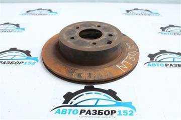Запчасть диск тормозной задний правый Nissan X-Trail 2002-2007