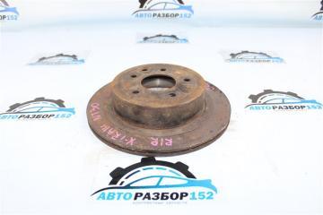 Запчасть тормозной диск задний правый Nissan X-Trail 2002-2007