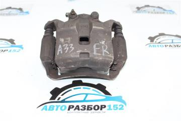 Запчасть суппорт тормозной передний правый Nissan Maxima 1998-2003