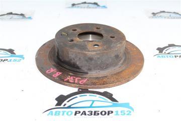 Запчасть тормозной диск задний правый Nissan Teana 2003-2007