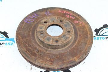 Запчасть тормозной диск передний левый NISSAN Murano 2002-2007