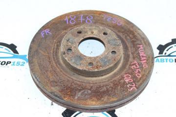 Запчасть тормозной диск передний правый NISSAN Murano 2002-2007