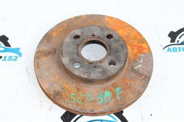 Запчасть диск тормозной передний левый TOYOTA Vitz 2005