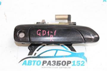 Запчасть ручка двери внешняя передняя правая Honda Fit 2001-2007