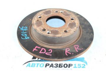 Запчасть тормозной диск задний правый Honda Civic 2005-2010