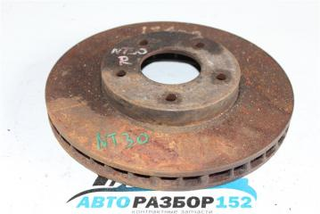 Запчасть диск тормозной передний правый NISSAN X-Trail 2002-2007