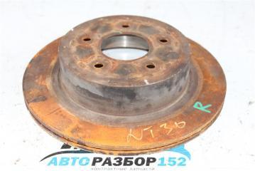 Запчасть диск тормозной задний NISSAN X-Trail 2002-2007