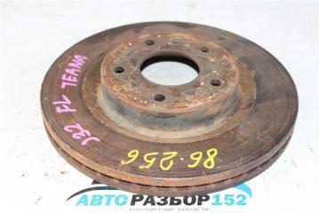 Запчасть диск тормозной передний левый Nissan Teana 2008-2012