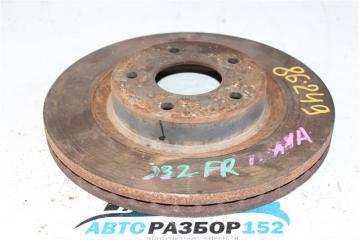 Запчасть диск тормозной передний правый Nissan Teana 2008-2012