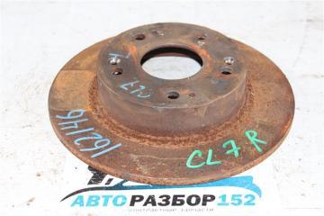 Запчасть диск тормозной задний Honda Accord 2002-2007