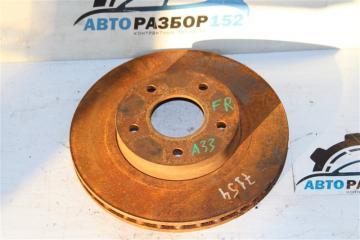Запчасть диск тормозной передний левый Nissan Cefiro 1998-2003
