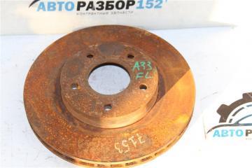Запчасть диск тормозной передний правый Nissan Cefiro 1998-2003