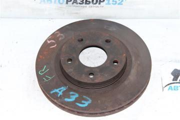 Запчасть тормозной диск передний правый Nissan Cefiro 1998-2003