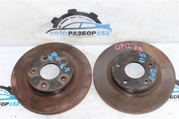 Запчасть тормозной диск передний Nissan Primera 2002-2007