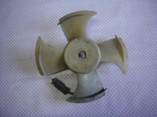 Запчасть вентилятор радиатора Honda Fit 2008