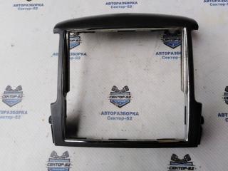 Запчасть накладка консоли центральной (рамка) Kia Sorento 2008