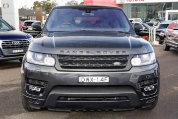 Запчасть ноускат передний Land Rover Range Rover Sport 2 2016