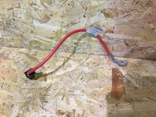 Запчасть провод аккумулятора BMW X1 2011
