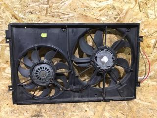 Запчасть диффузор в сборе с вентилятором Volkswagen Golf Plus 2007