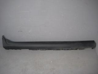 Запчасть накладка на порог (наружная) BMW X3