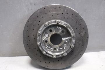 Запчасть диск тормозной передний вентилируемый левый Lamborghini Huracan