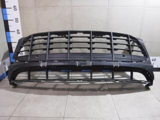 Запчасть решетка в бампер центральная Porsche Macan