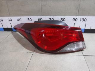 Запчасть фонарь задний наружный левый Hyundai Elantra