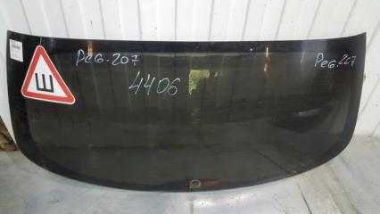 Запчасть стекло заднее Peugeot 207 2006- 2012