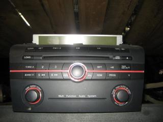 Запчасть магнитофон Mazda Axela