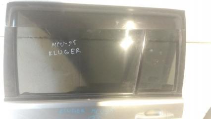 Запчасть стекло заднее левое TOYOTA KLUGER V 2005