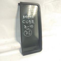 Запчасть форточка двери задняя левая NISSAN CUBE 1996