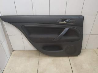 Обшивка двери задняя левая Skoda Superb 2006