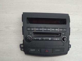 Блок управления магнитолой Mitsubishi Outlander 2007