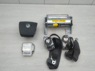Комплект безопасности Skoda Superb 2007