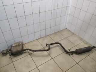Глушитель задняя часть Skoda Octavia 2009