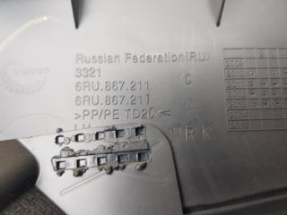 Обшивка двери задняя левая VW Polo Sedan 2013