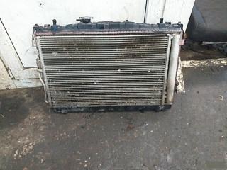 Запчасть кассета радиатора Hyunday Elantra