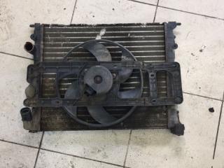 Запчасть кассета радиатора Renault Logan