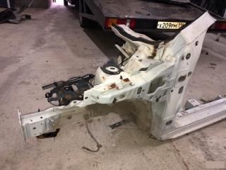 Запчасть лонжерон четверть с порогом левый Mazda 2