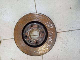 Запчасть тормозной диск передний peugeot 207