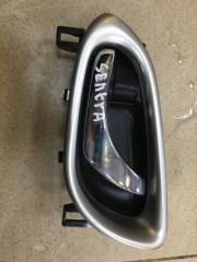 Запчасть ручка двери внутренняя передняя левая Nissan Sentra 2014
