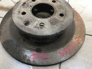 Запчасть тормозной диск задний Nissan Sentra 2014